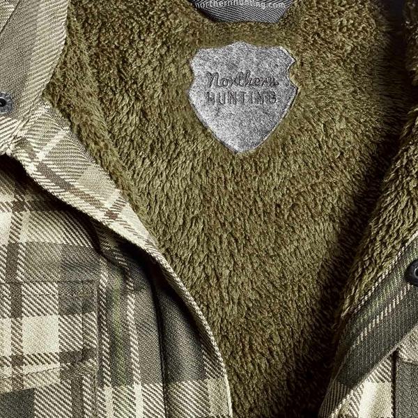 Northern Hunting Gorm jagtskjorte detail1