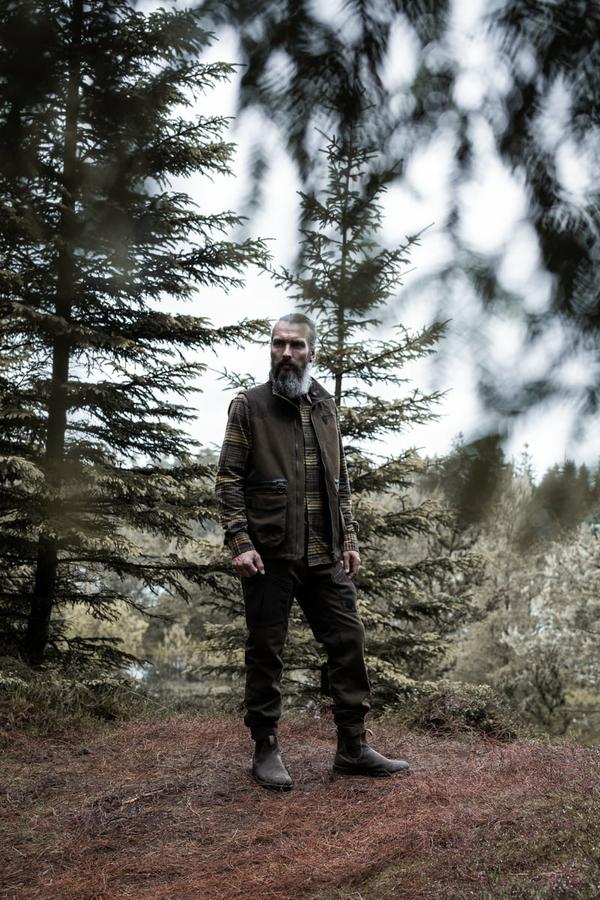 Northern Hunting Loki jagtskjorte portrait1
