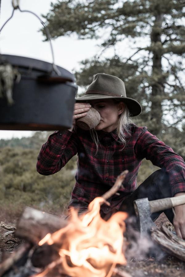 Northern Hunting Siggy jagtskjorte damer portrait1