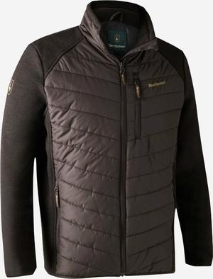Deerhunter Moor vatteret jakke med strik Dark Prune