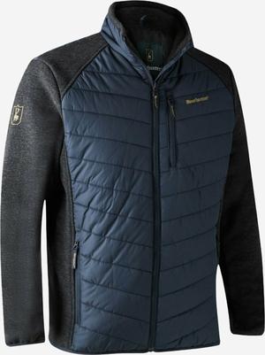 Deerhunter Moor vatteret jakke med strik Dark Blue