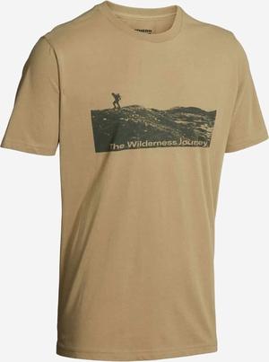 Northern Hunting Stein T-shirt sand