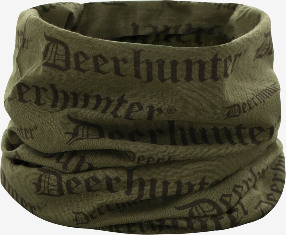 Deerhunter - Logo halsedisse (Tarmac Green)