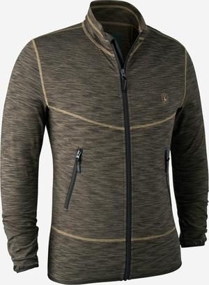Deerhunter Norden Insulated Fleece Brown Melange