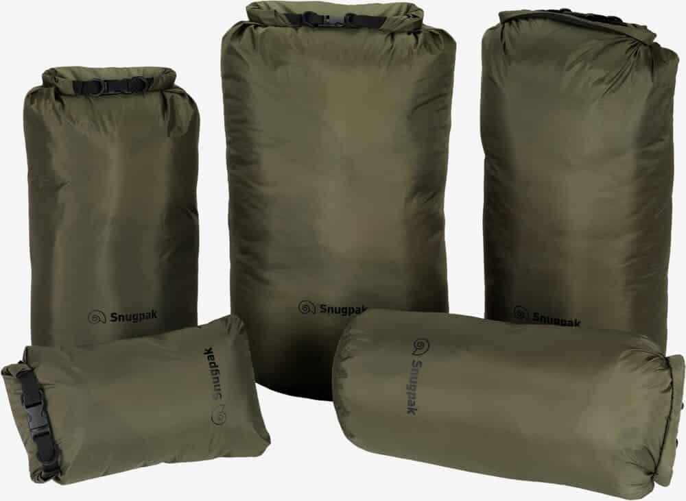Snugpak - Dri-Sak vandtætte poser (Olive)