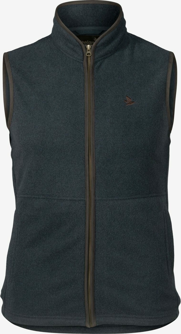 Seeland Woodcock fleece vest blue