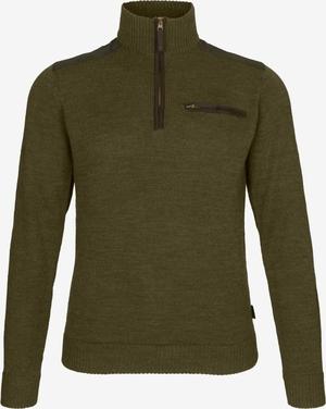 Seeland Buckthorn half zip sweater