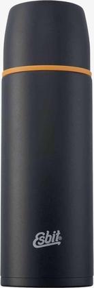 Stainless Steel Vacuum Flask, 1L, black