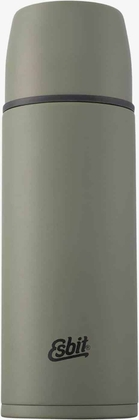 Stainless Steel Vacuum Flask, 1L, olive green