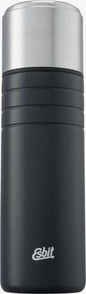 MAJORIS Stainless Steel Vacuum Flask, 1L, black