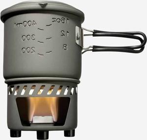 Esbit Solid fuel cookset, 585ml, aluminum without non-stick coating