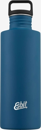 Esbit SCULPTOR Stainless Steel Drinking Bottle, 1L, Polar Blue