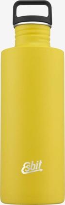Esbit SCULPTOR Stainless Steel Drinking Bottle, 1L, Sunshine Yellow