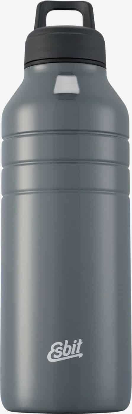 Esbit MAJORIS Stainless Steel Drinking Bottle, 1000ML, cool grey