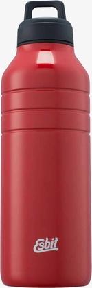 MAJORIS Stainless Steel Drinking Bottle, 1000ML, red