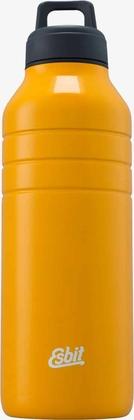 Esbit MAJORIS Stainless Steel Drinking Bottle, 1000ML, yellow