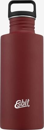 Esbit SCULPTOR Stainless Steel Drinking Bottle, 0.75L, Burgundy Red