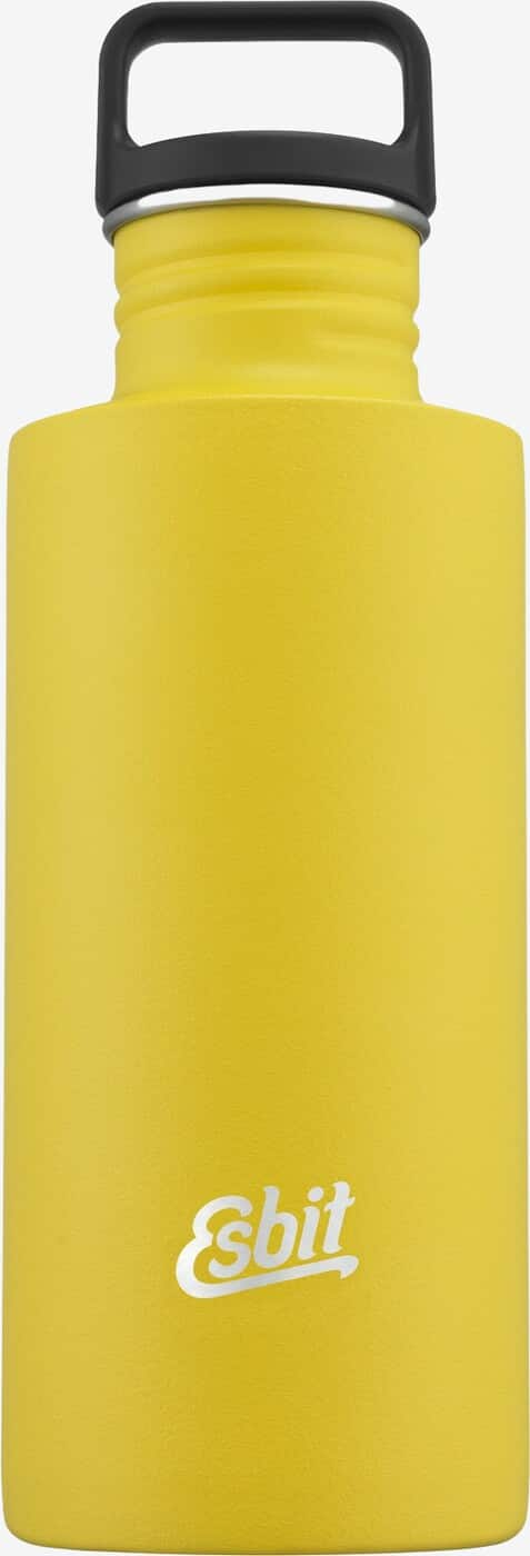 Esbit SCULPTOR Stainless Steel Drinking Bottle, 0.75L, Sunshine Yellow