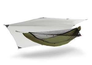 Kammok Mantis UL hængekøje telt moss green