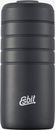 Esbit MAJORIS Stainless Steel thermo mug with flip top, 450ML, black