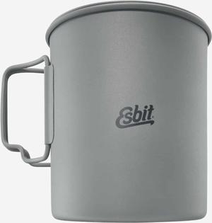 Esbit Titanium Pot, 0.75L, fits ST11.5-TI