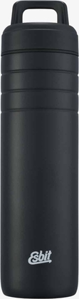 "Esbit MAJORIS Stainless Steel Wide Mouth Flask ""Daypack"", 700ML, black"