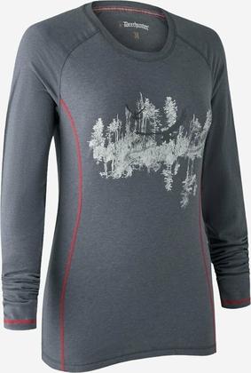 Deerhunter Lady Hazel T-shirt med lange ærmer 976