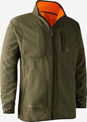 Deerhunter Gamekeeper bonded fleece jakke - vendbar-669