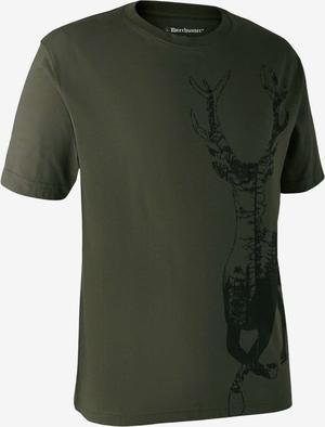 Deerhunter T-shirt med hjort