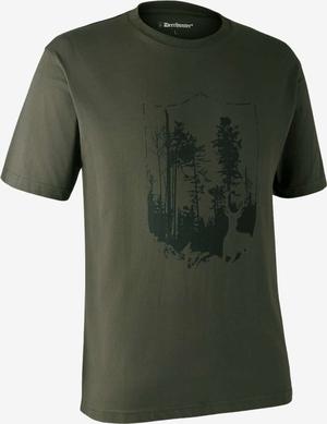 Deerhunter T-shirt med skjold