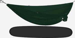 Kammok Roo Double 40D hængekøje pine green
