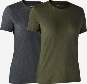 Deerhunter Ladies Basic 2-pak t-shirt-354