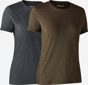 Deerhunter Ladies Basic 2-pak t-shirt-572