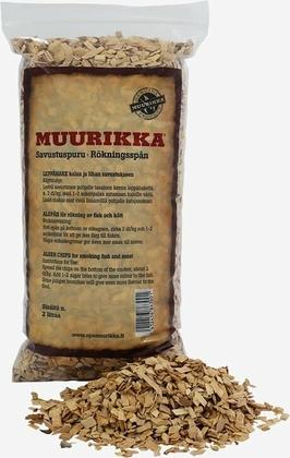 Muurikka Røgsmuld af elletræ, 2 L