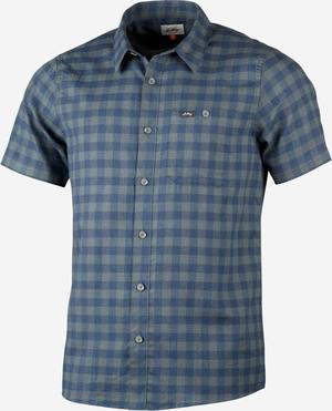 Lundhags Ekren SS skjorte-Deep Blue