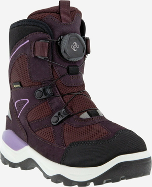 Ecco Snow Mountain Boot black prune