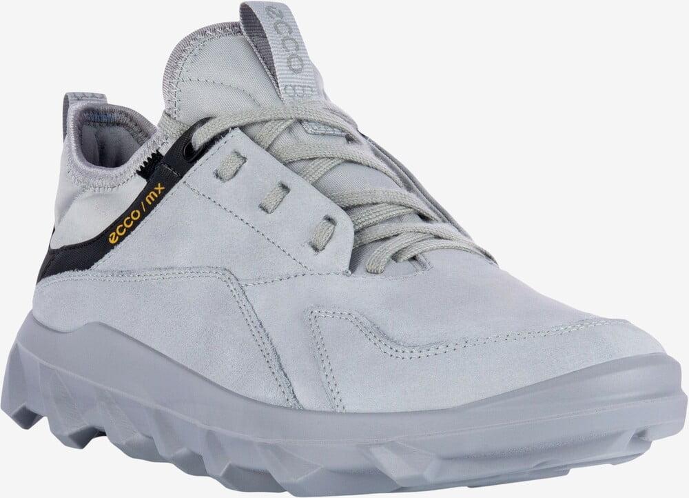 ECCO MX Women lædersneaker silver grey