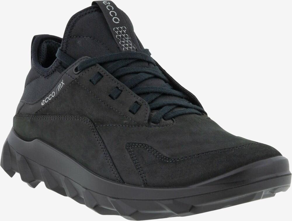 ECCO MX læderneaker sort