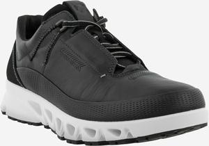ECCO Mulit-Vent læder sneaker black