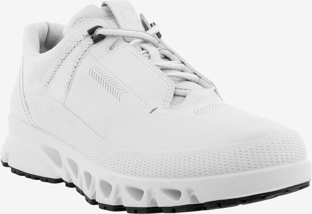 ECCO Mulit-Vent læder sneaker white