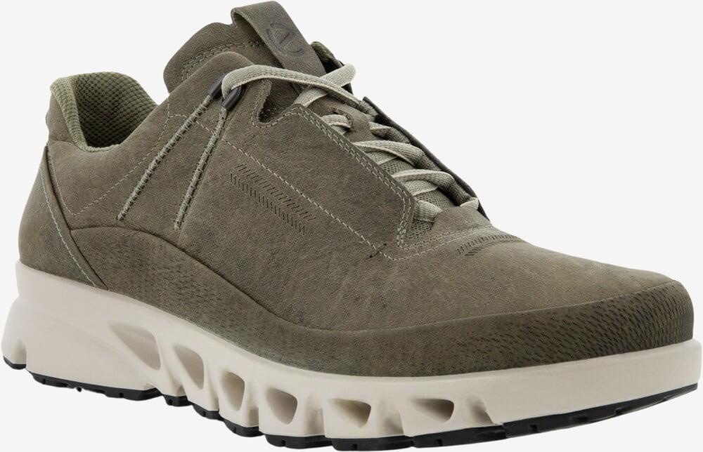ECCO Mulit-Vent læder sneaker vetiver